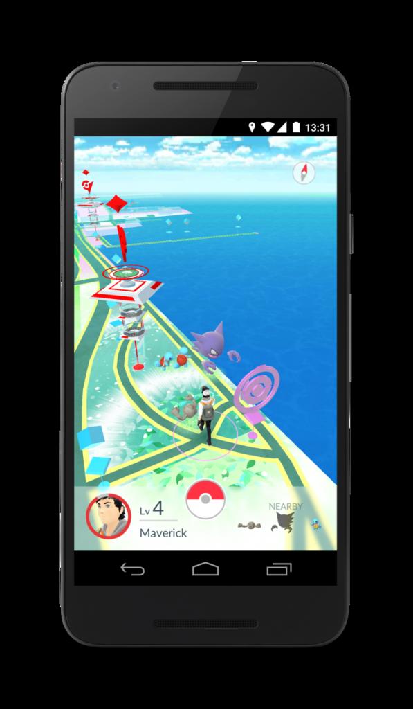 Pokemon Go Karte