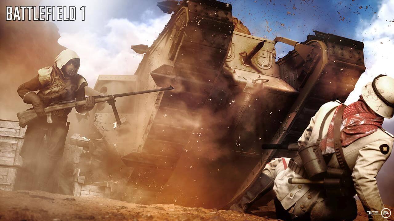 Battlefield-Bajonett