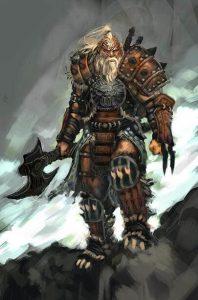Diablo 3 Barbar Artwork
