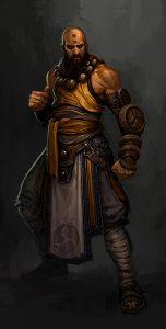 Diablo 3 Mönch Artwork