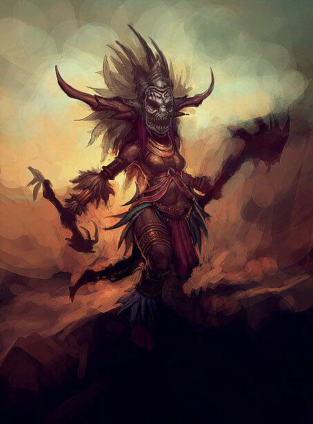 Diablo 3 Hexendoktor Artwork