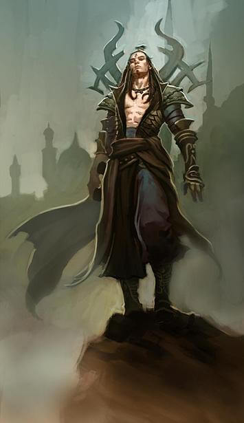 Diablo 3 Zauberer Artwork