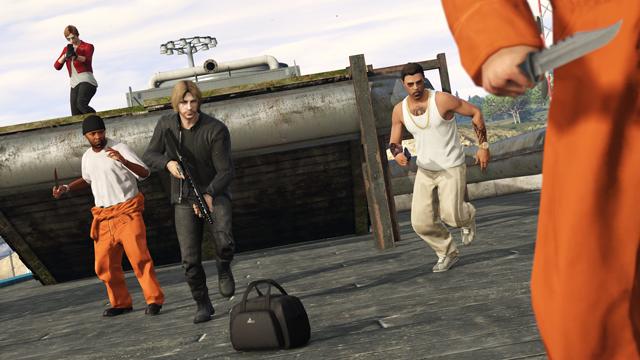 GTA 5 Gefängnis
