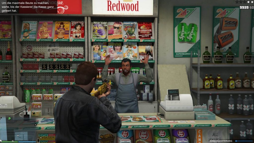 GTA 5 Überfall Geschäft