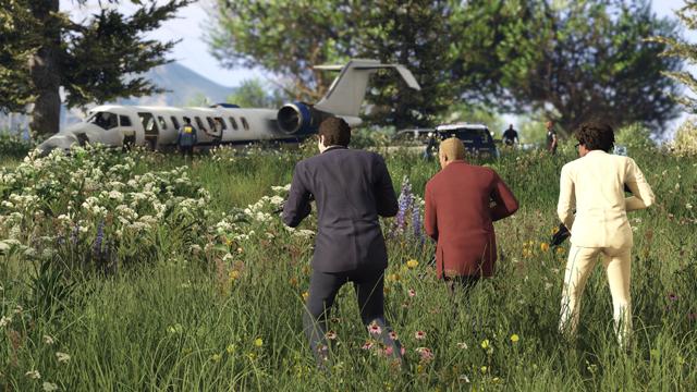 GTA 5 Online Flugzeug Job
