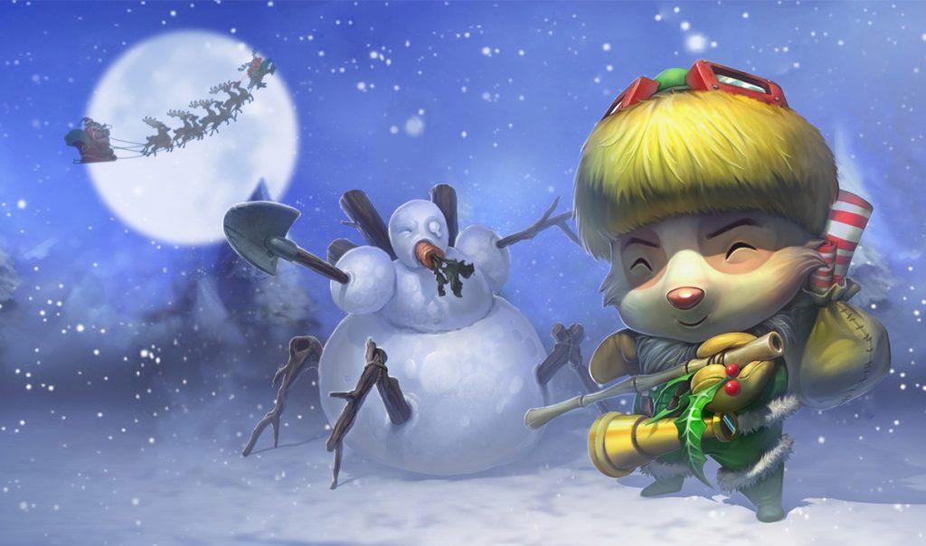LoL Teemo happy elf