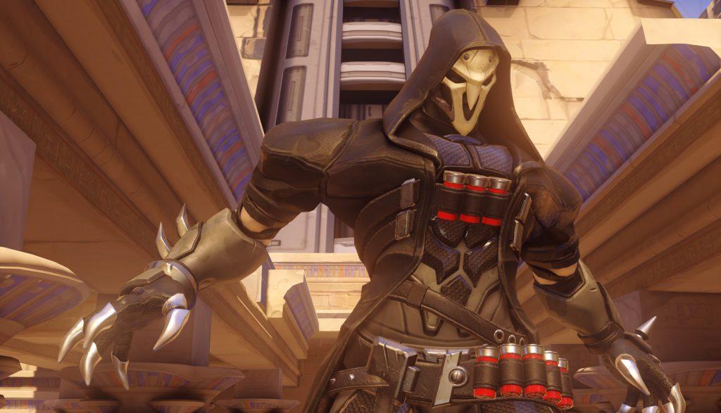 Overwatch Reaper Poster