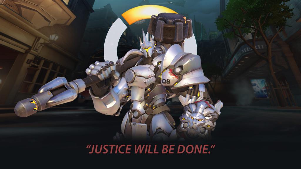 Overwatch Reinhardt Justice Will be Done