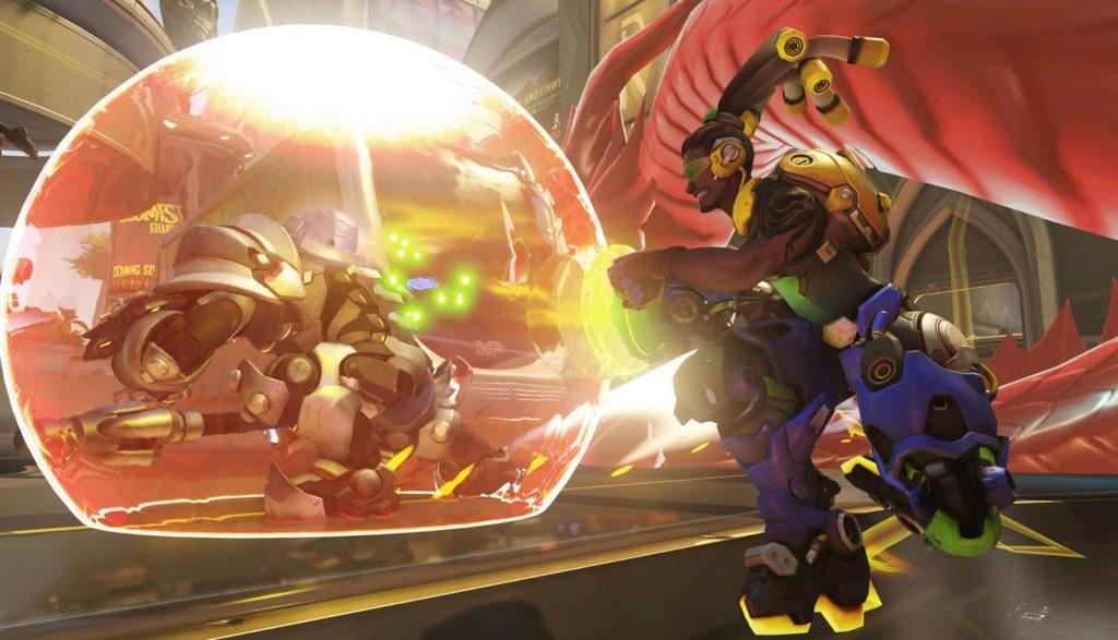 Overwatch Screenshot Lucio Reinhardt Hanzdrake