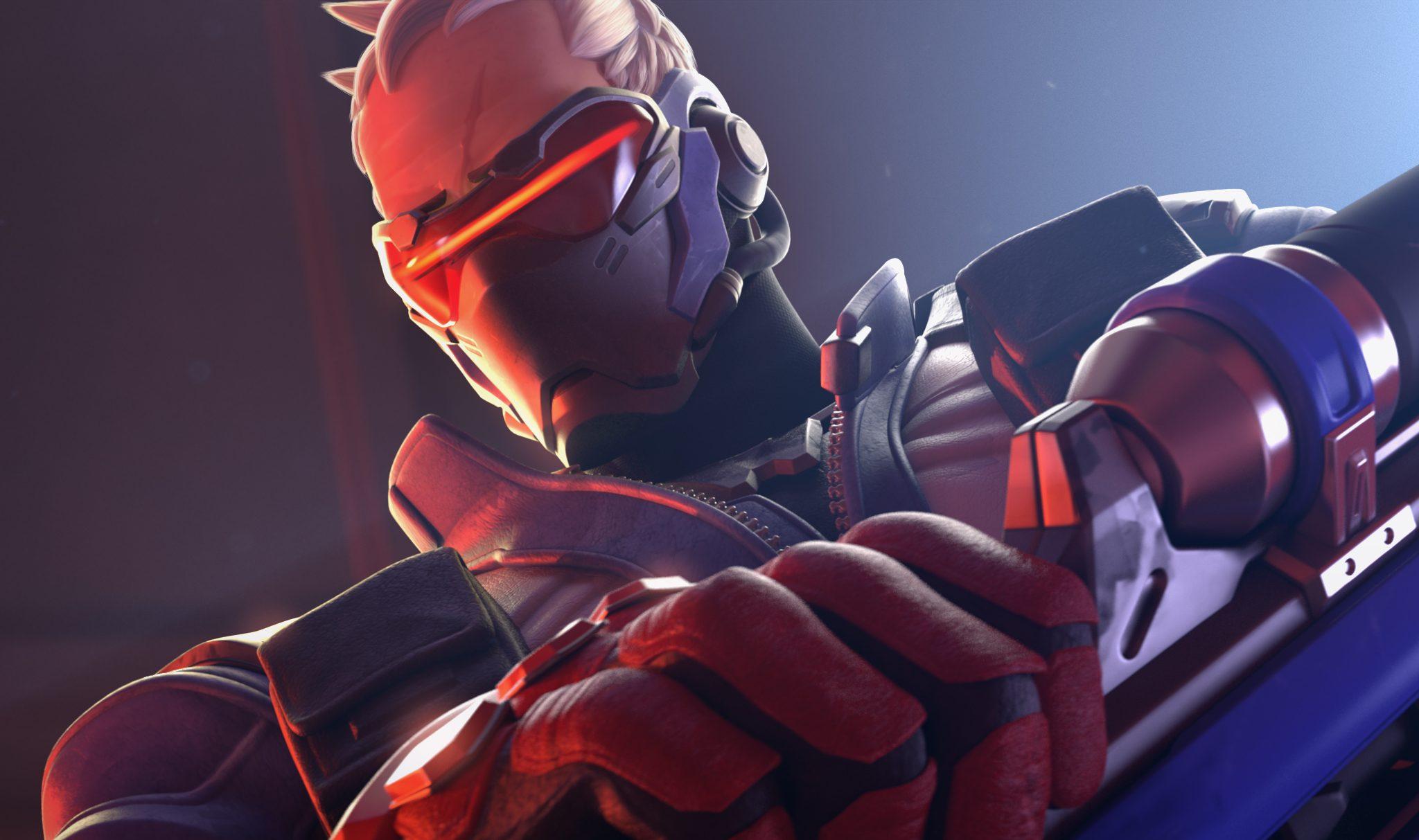 Overwatch Soldier76 Poster