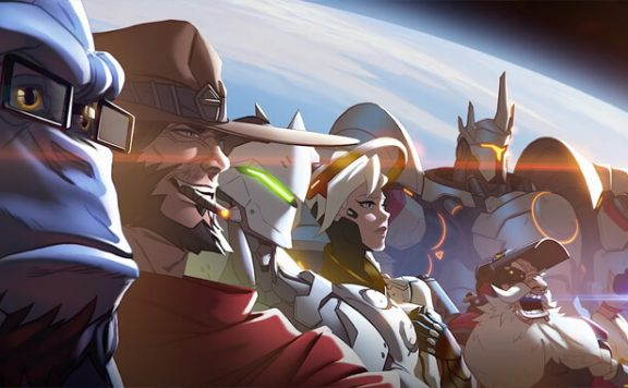 Overwatch Team Artwork