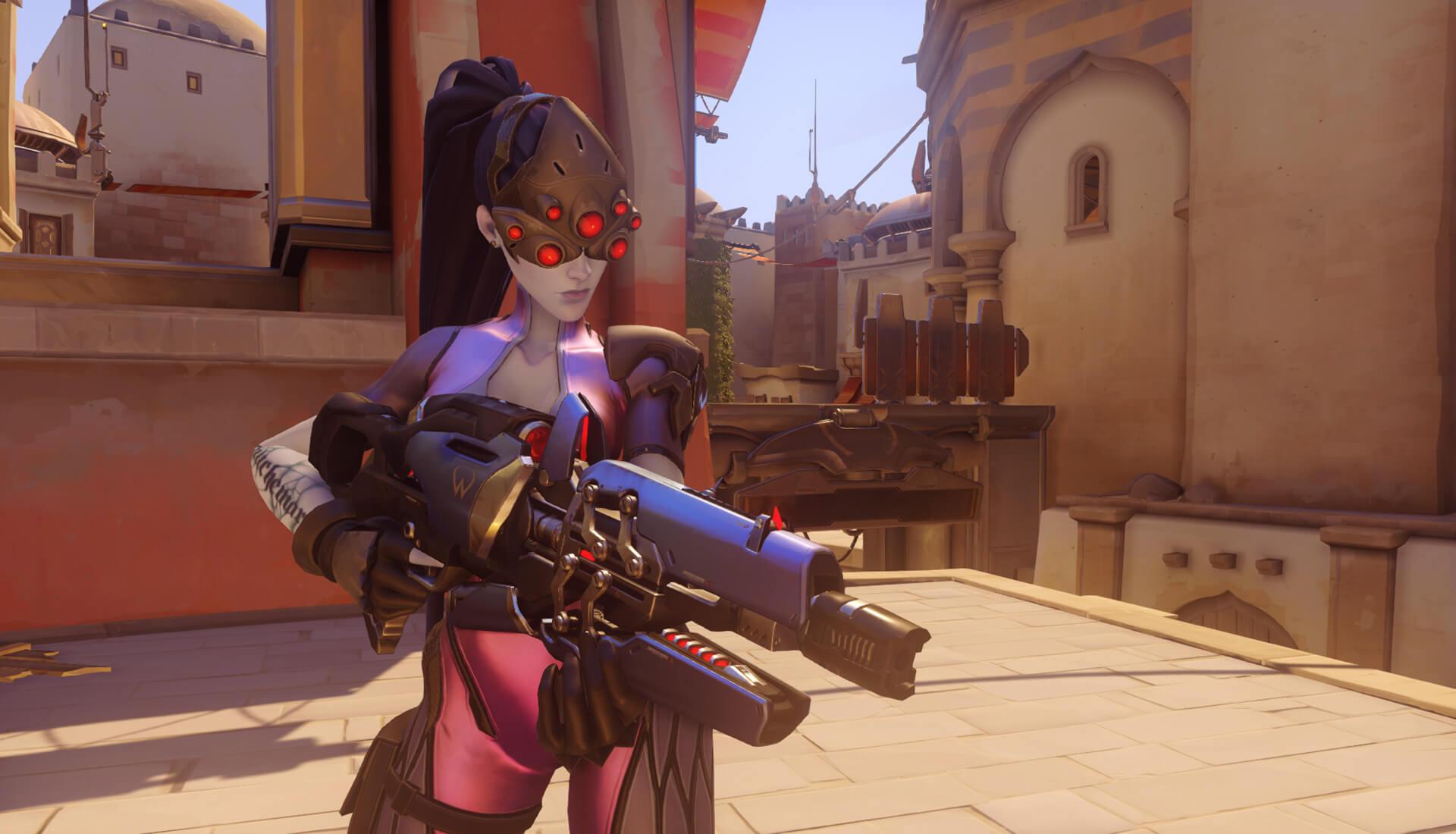 Overwatch widowmaker Screenshot huge
