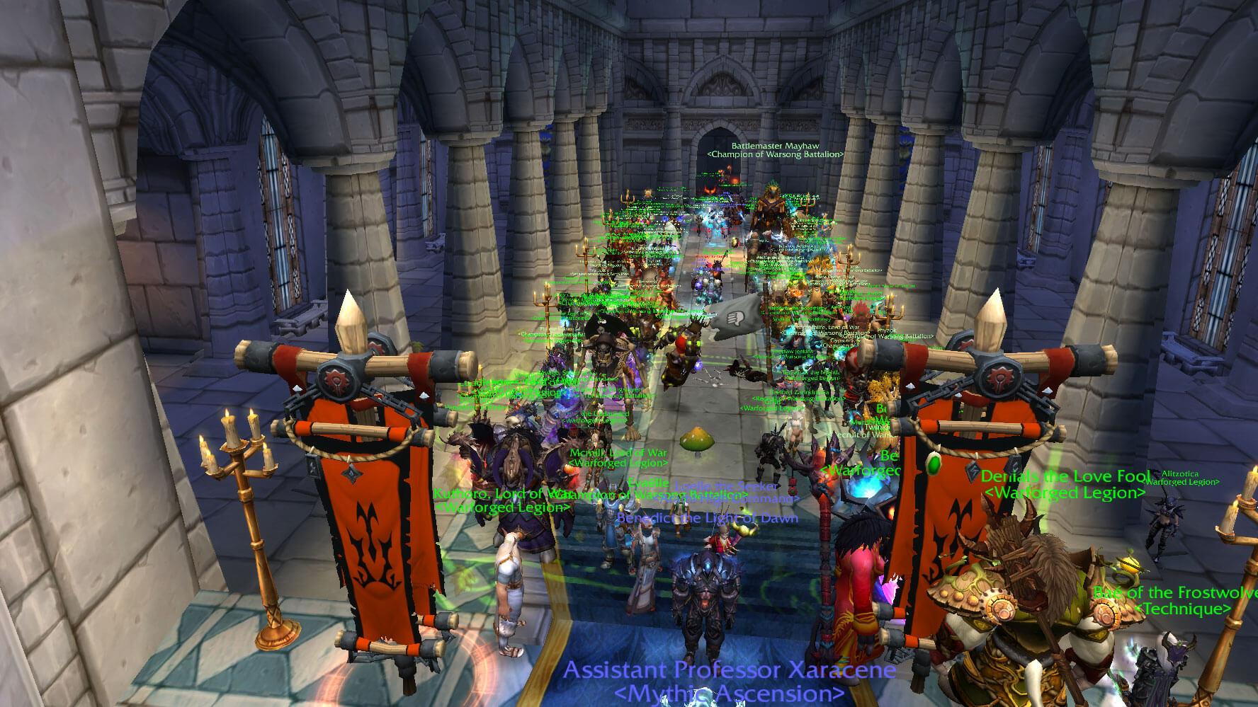 WoW Hochzeit Horde Emerald Dream