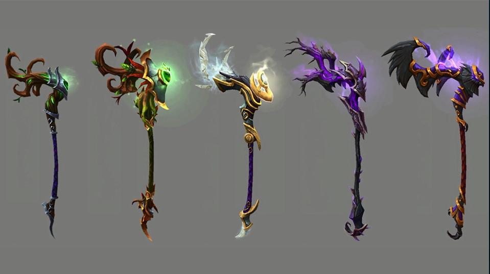 WoW Legion Artifact Druid G'Hanir