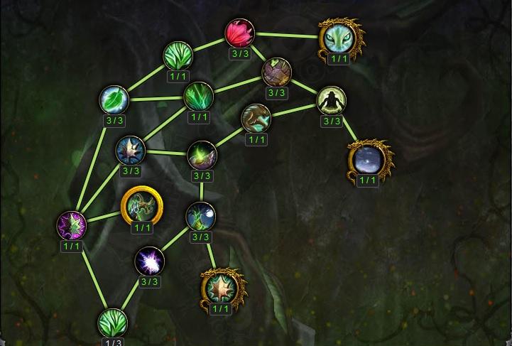 WoW Legion Artifact G'hanir the Mothertree