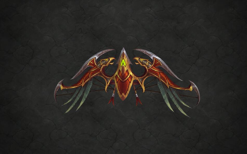 WoW Legion Artifact Hunter Thasdorah Legady of the Windrunners