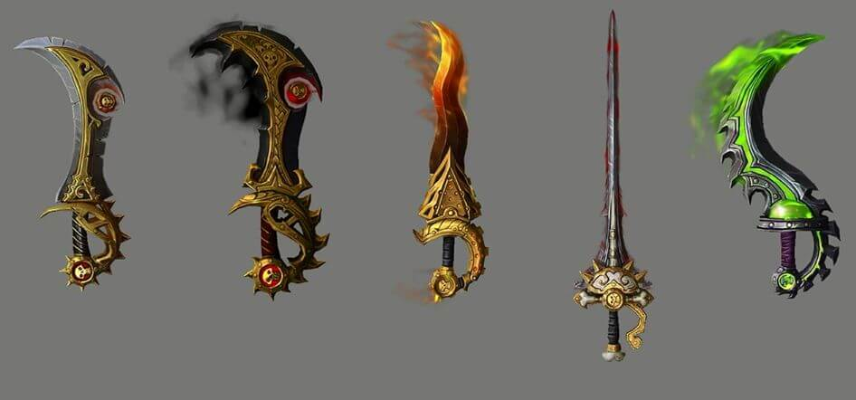 WoW Legion Artifact Rogue Dreadblades