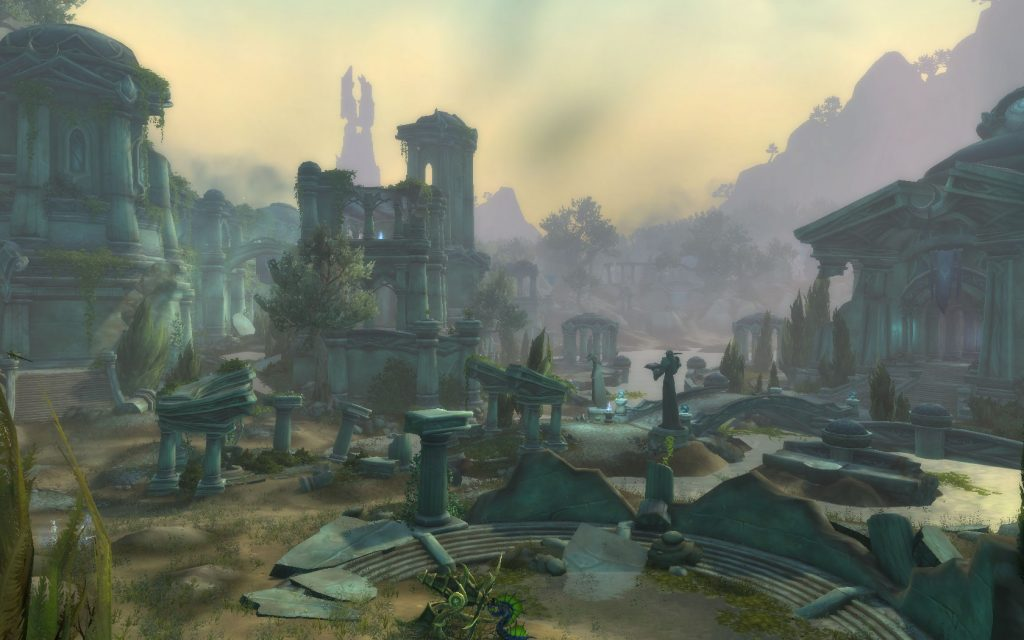 WoW Legion Azsuna Ruins