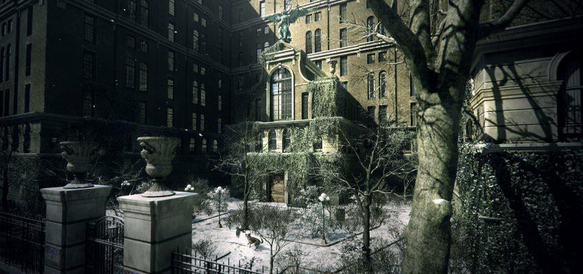 Bei aller Ballerei gibt es im Spiel auch ruhigere Momente. In denen kann man dann auch die prachtvolle Architektur Manhattans genieÃen.