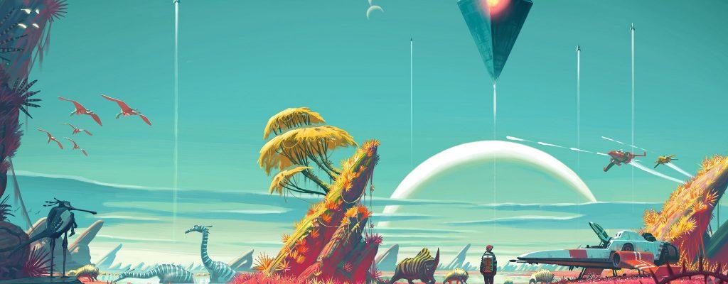 No Man's Sky für Xbox One? Hinweise in PC-Daten entdeckt