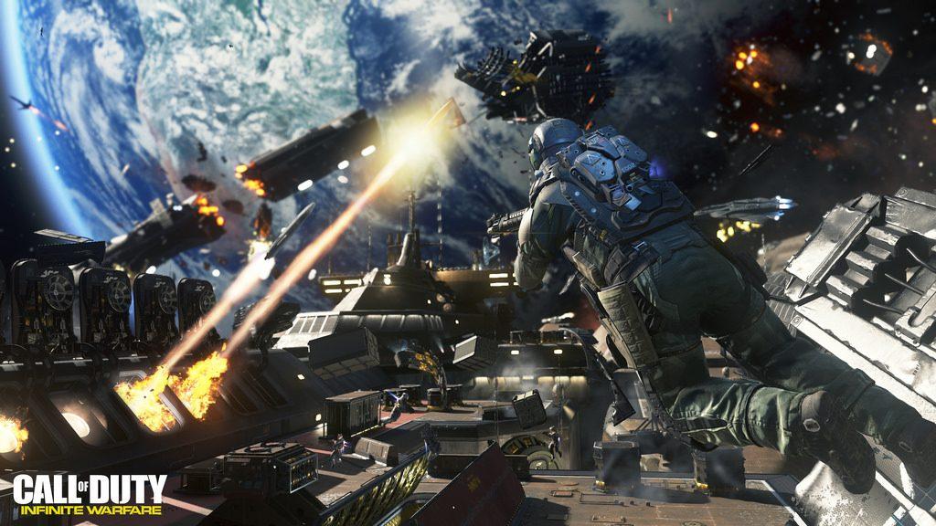 Call of Duty Weltraum CoD