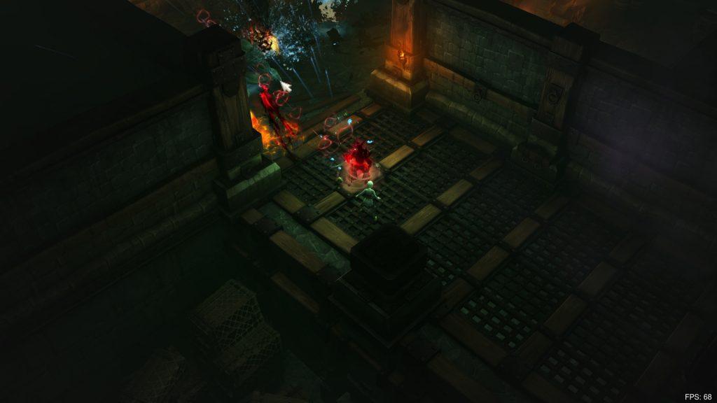 Diablo 3 ohne UI - Quelle: Davezd - Reddit