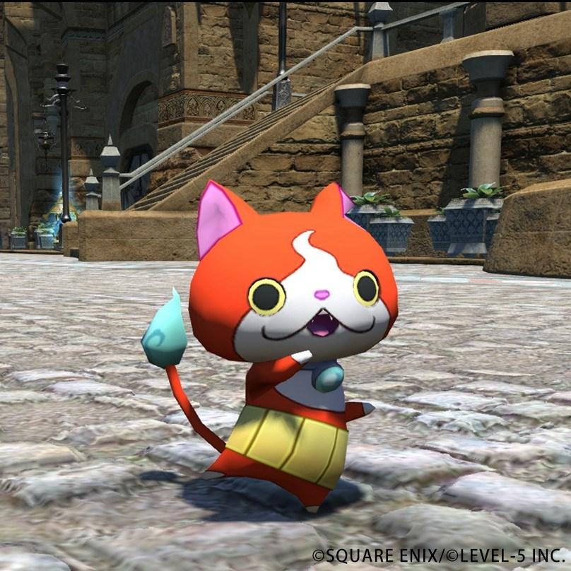 Final Fantasy 14 Yo-Kai Cat