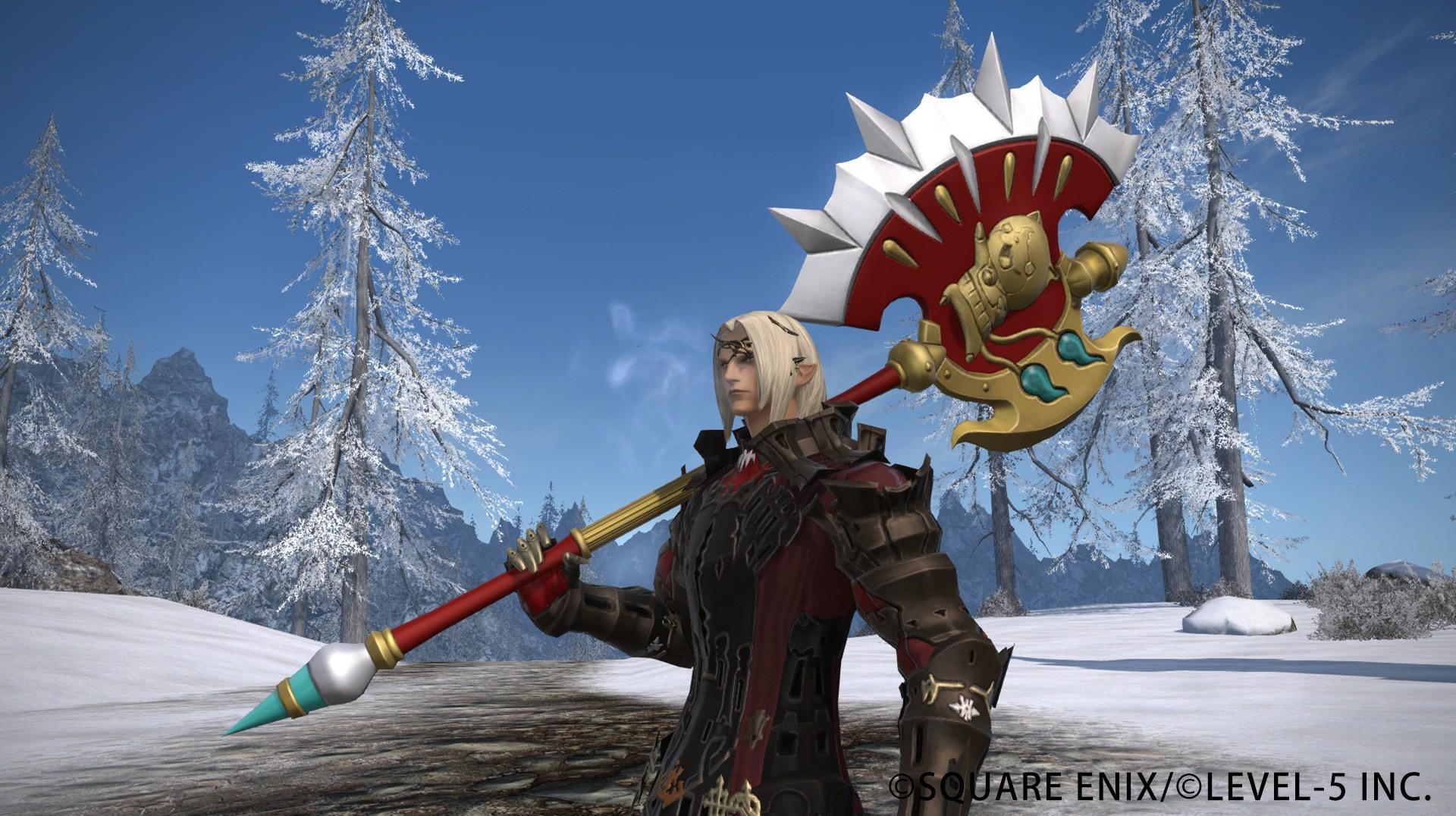 Final Fantasy 14 Yo-Kai Watch Weapon