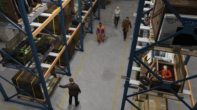 GTA 5 Illegale Waren Warehouse Lager