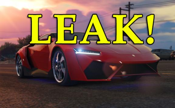 GTA 5 Online Autos Leak