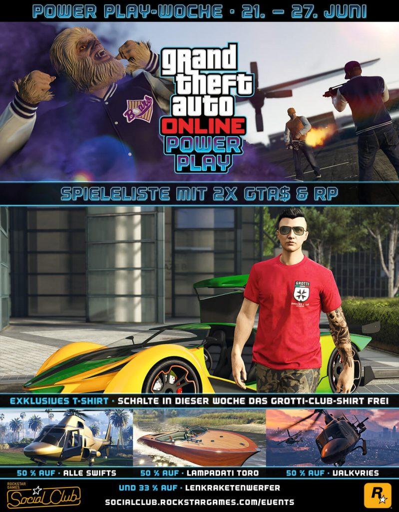 GTA 5 Online Power Play Woche
