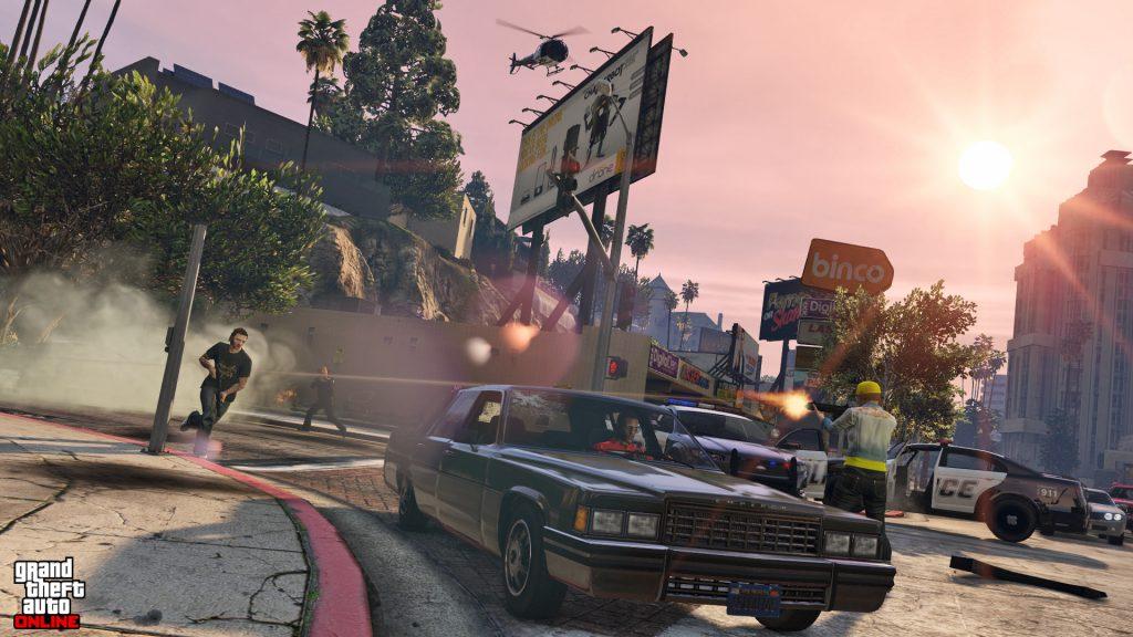 GTA 5 Online Schießen Hubschrauber