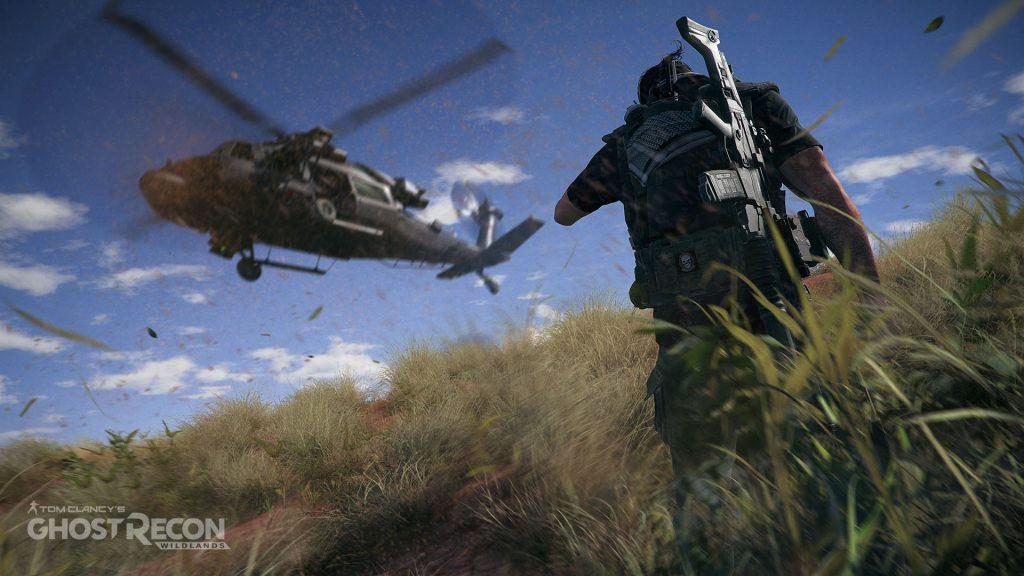 Wildlands Hubschrauber