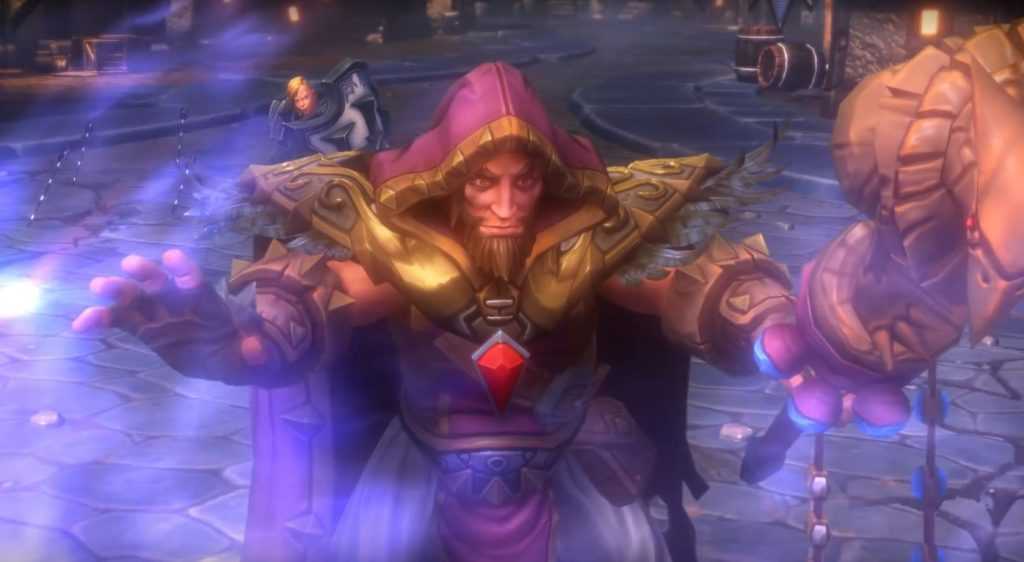 HotS Medivh Casting Title