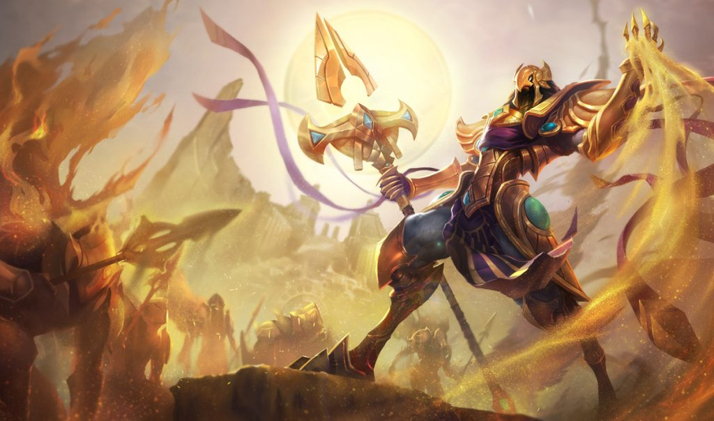 LoL Azir Splash