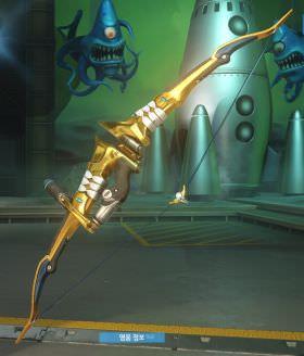 Overwatch Golden Weapon Hanzo