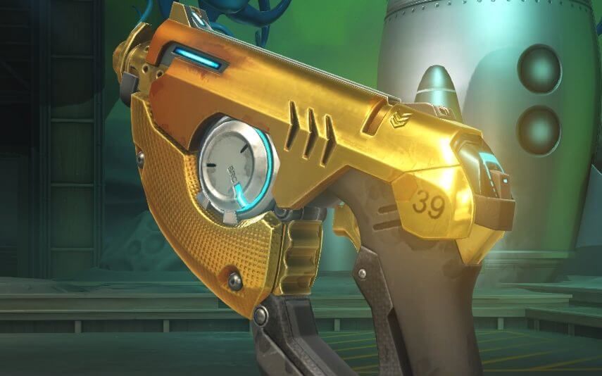 Overwatch Golden Weapon Tracer