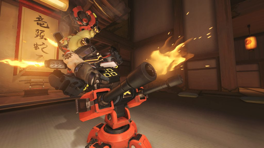 Overwatch Torbjörn Ride the turret