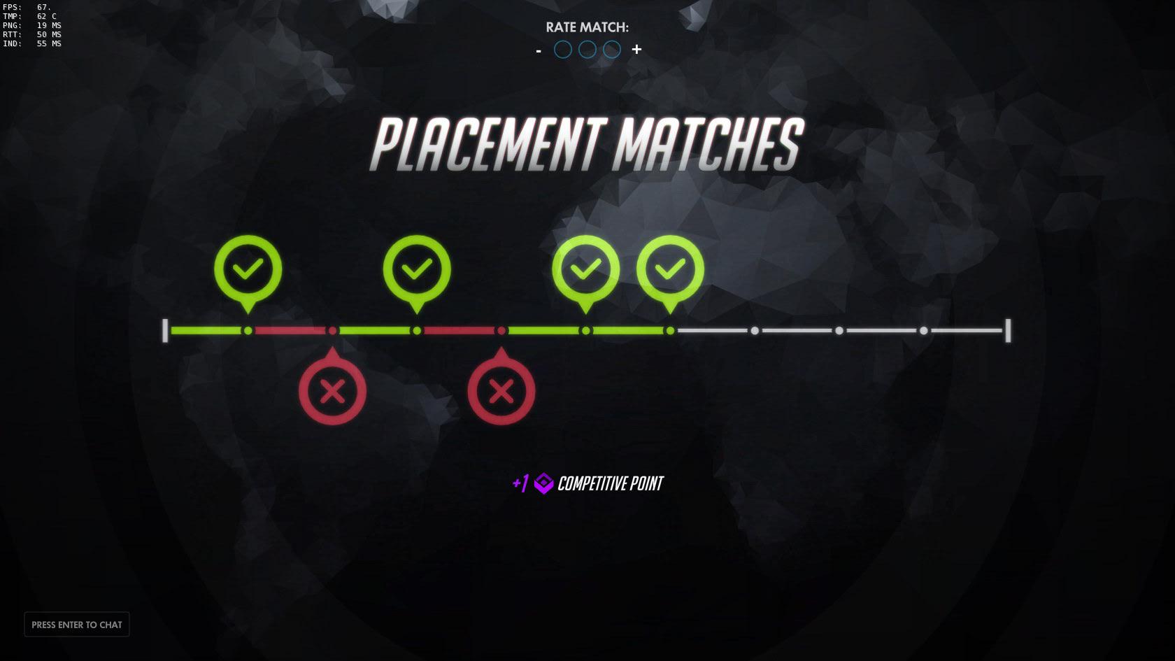 Overwatch Screenshot Placement Matches
