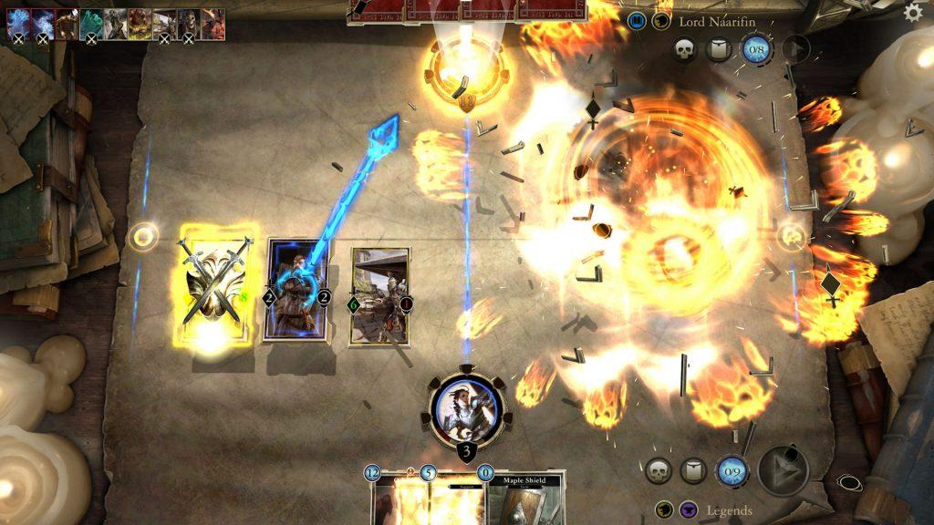 elder scrolls legends screenshot