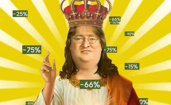 Steam Summer Sale GabeN