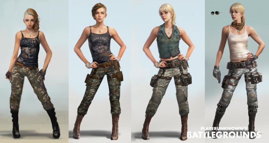 Battlegrounds-Frauen