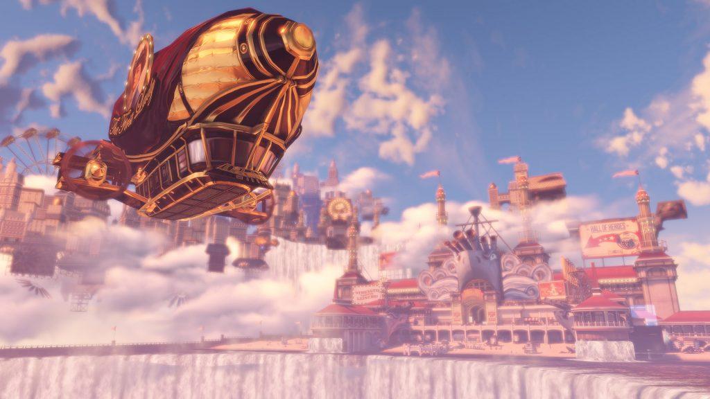 BioShock Stadt in den Wolken