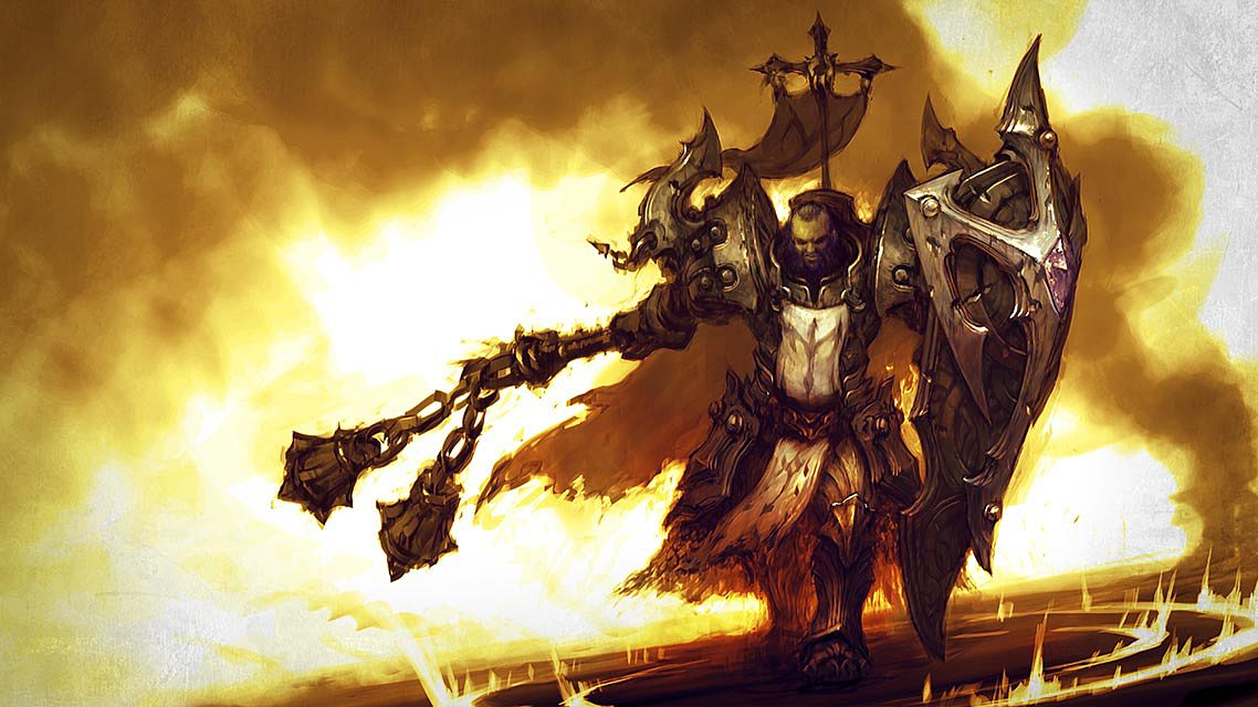 Diablo 3 Crusader Wallpaper Art