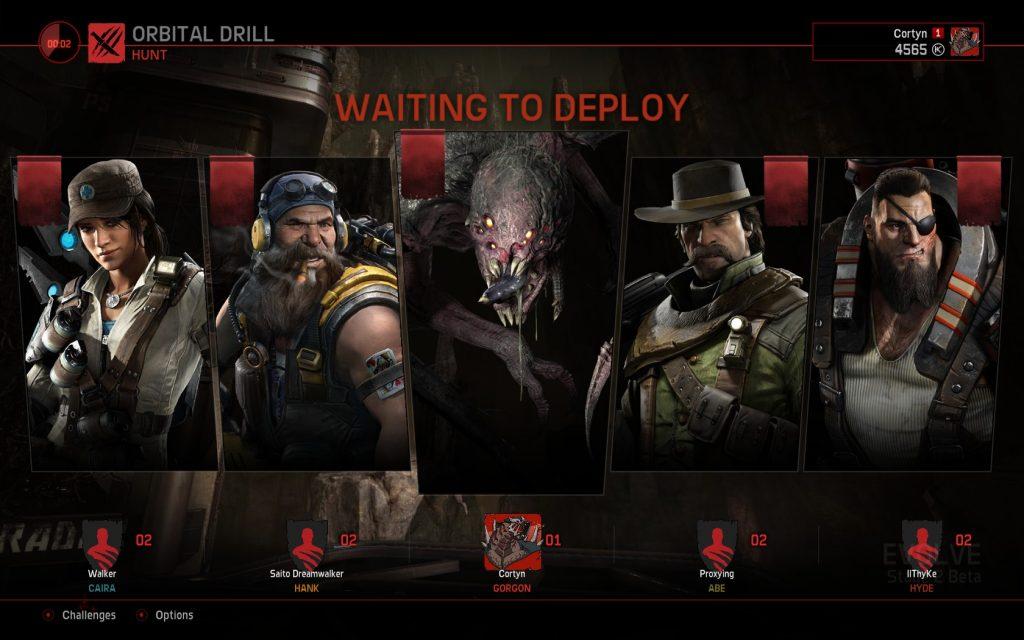 Evolve Stage 2 Lobby
