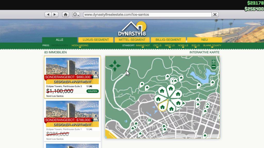 GTA 5 Online Gebäude Rabatt