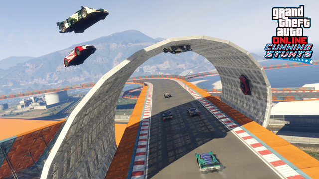 GTA 5 Online Stunts Looping