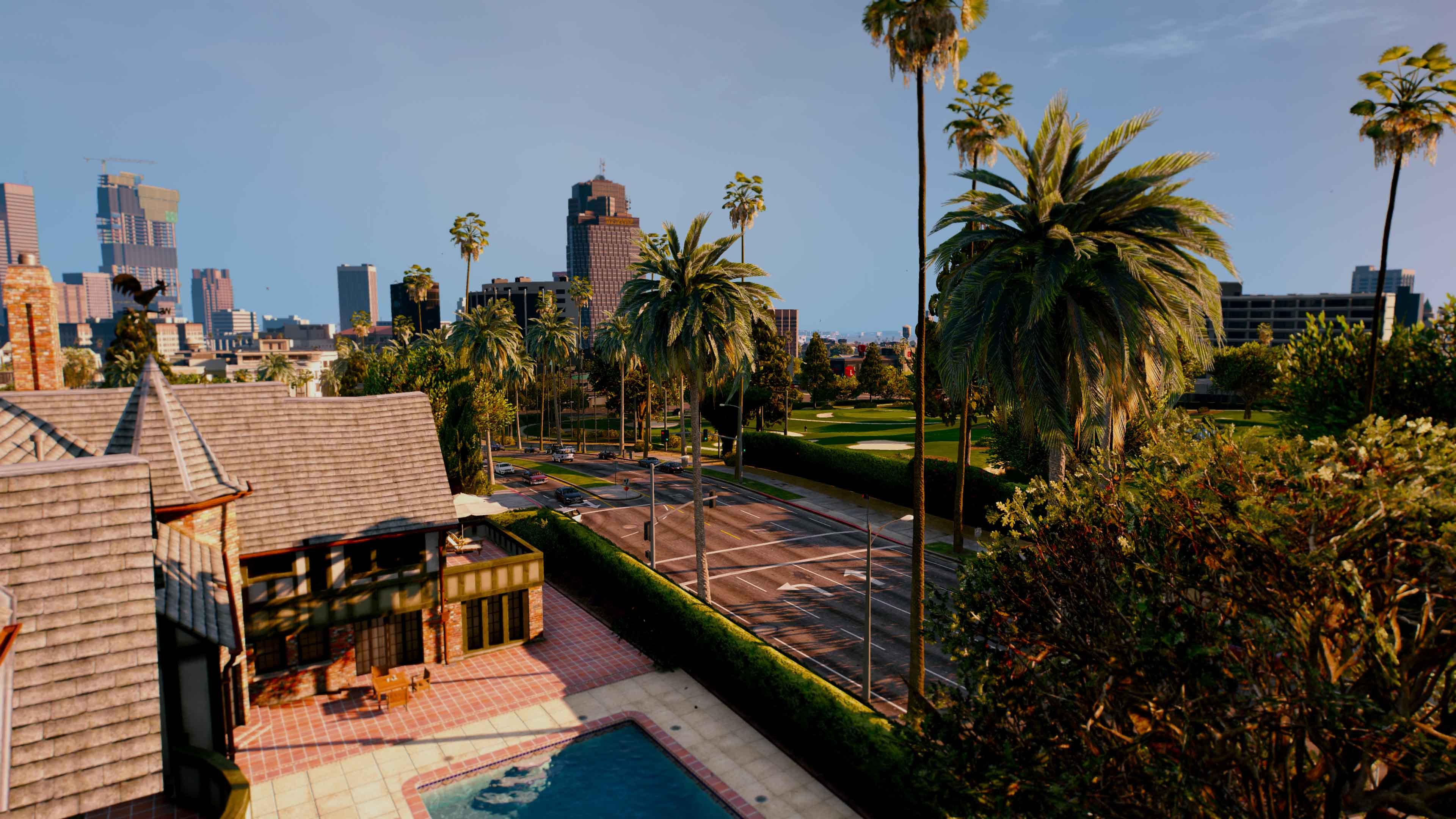GTA 5 Online Stadt Panorama Aussicht Mod