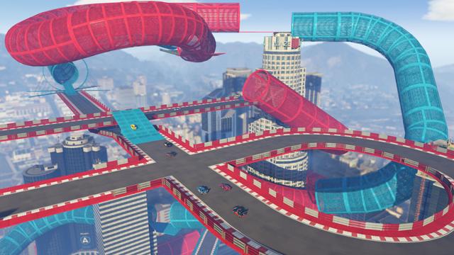 GTA 5 Online Hilfsmittel Rennstrecke Stunt