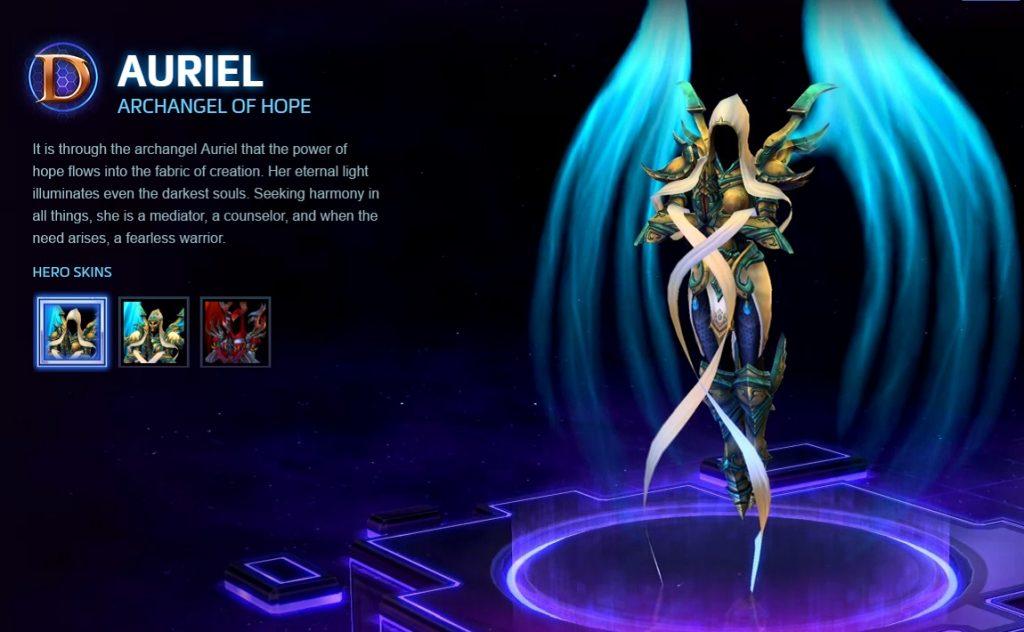 Hots Auriel Heropage